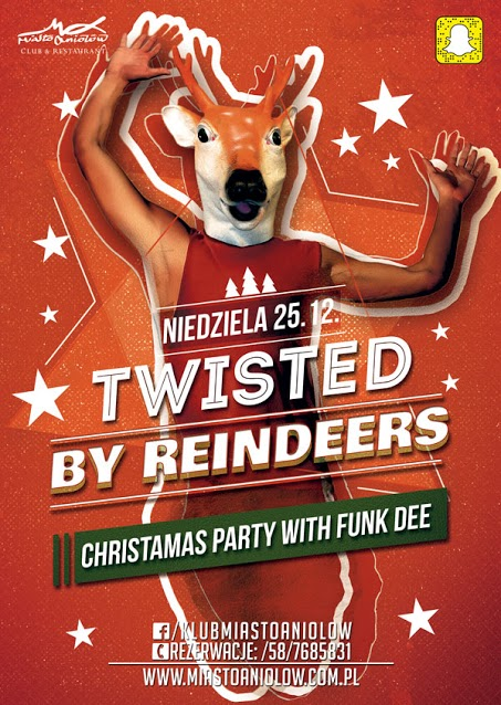 TWISTED BY REINDEERS - CHRISTMAS PARTY 2016 - FUNK DEE