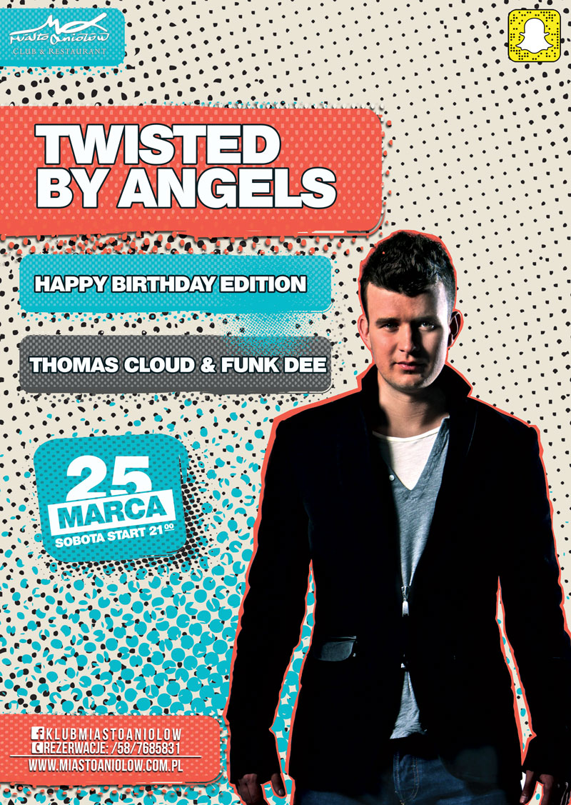 TWISTED BY ANGELS - THOMAS CLOUD & FUNK DEE
