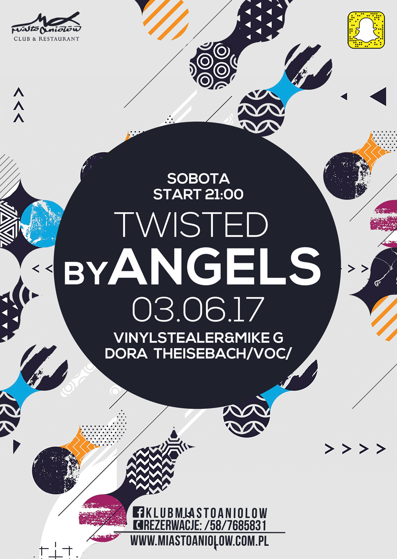 Twisted by Angels - Dora Theisebach & Vinylstealer & MIKE G