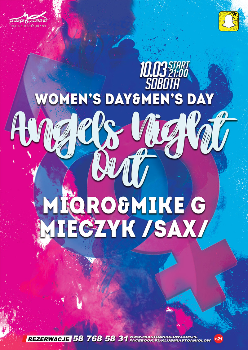 Angels Night Out - Women's Day & Men's Day