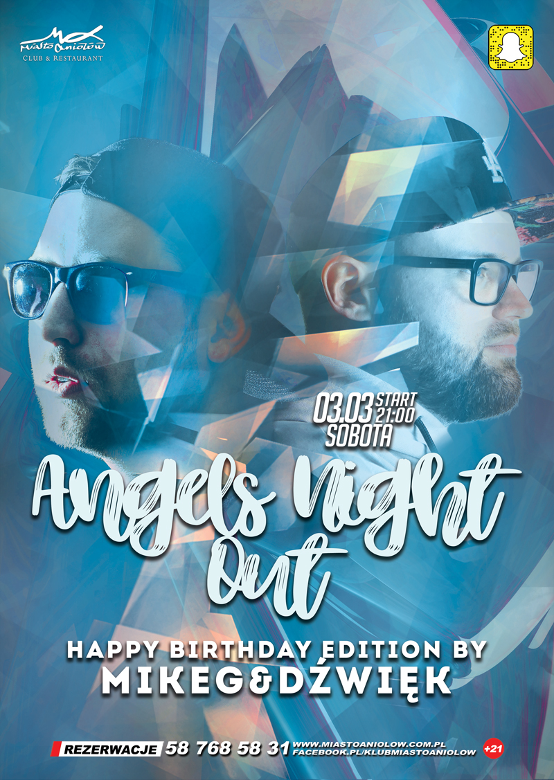 Angels Night Out – Dźwięk & Mike G - Happy Birthday