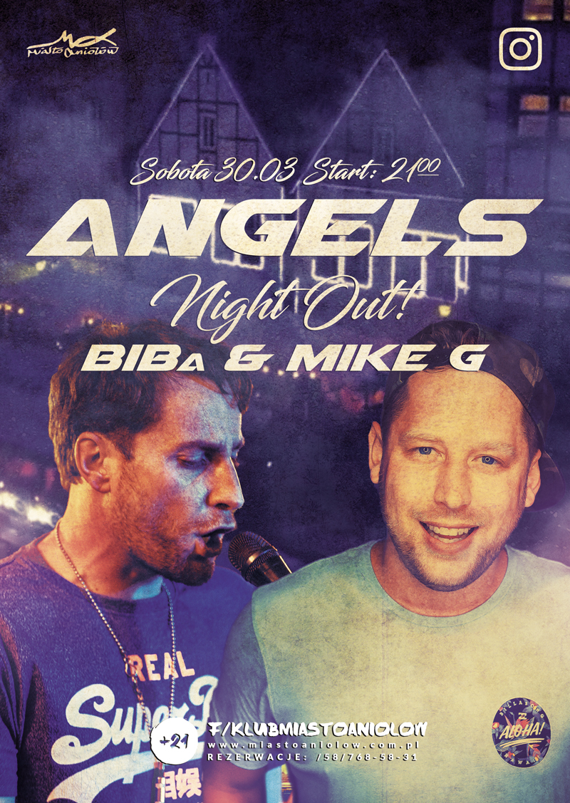 Angels Night Out - BIBa & Mike G